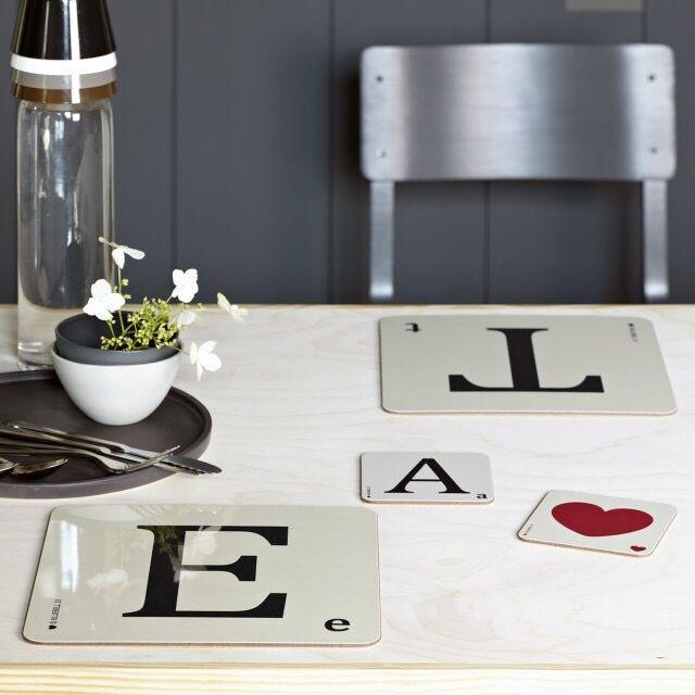 Letters Placemats