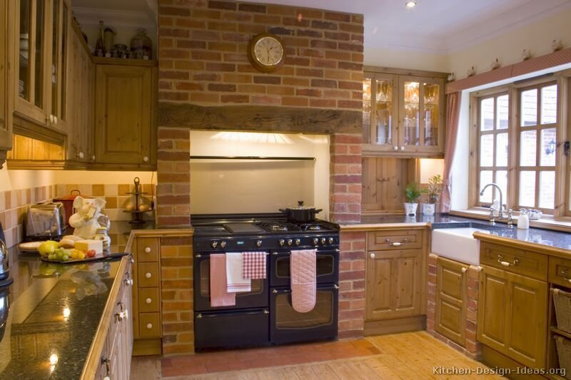 Kitchen Idea Of The Day Country Kitchens Brick