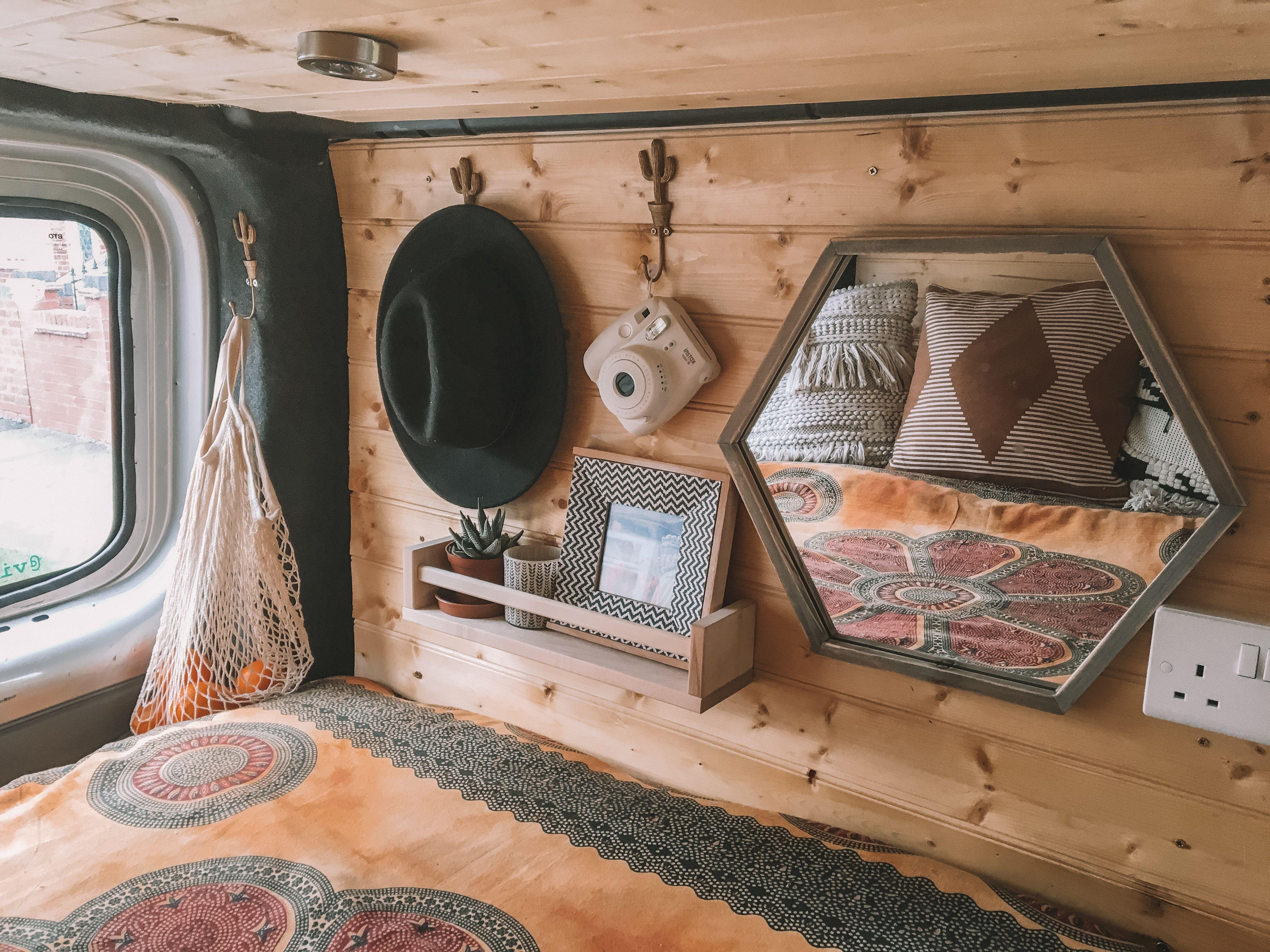 Photo of Vauxhall Vivaro Short Wheel Base Van Life Camper Conversion Bohemian Decor #camp…