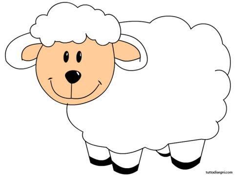 Animali fattoria pecora llatok ovelhas artesanato e for Fattoria immagini da colorare