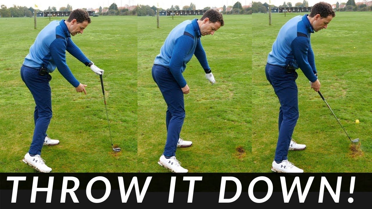 Incredible Drill To Hit Your Irons And Driver Straight Fix Your Slice Youtube Golf Lessons Going To Work Golf Downswing