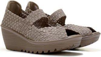 05b6346d81e0 Skechers Cali Women s Parallel Memory Foam Woven Wedge Sandal at Famous  Footwear