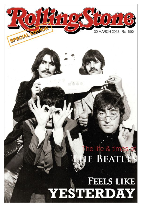 Magazine Cover Design- Rolling Stone by Rachit Arora, via Behance