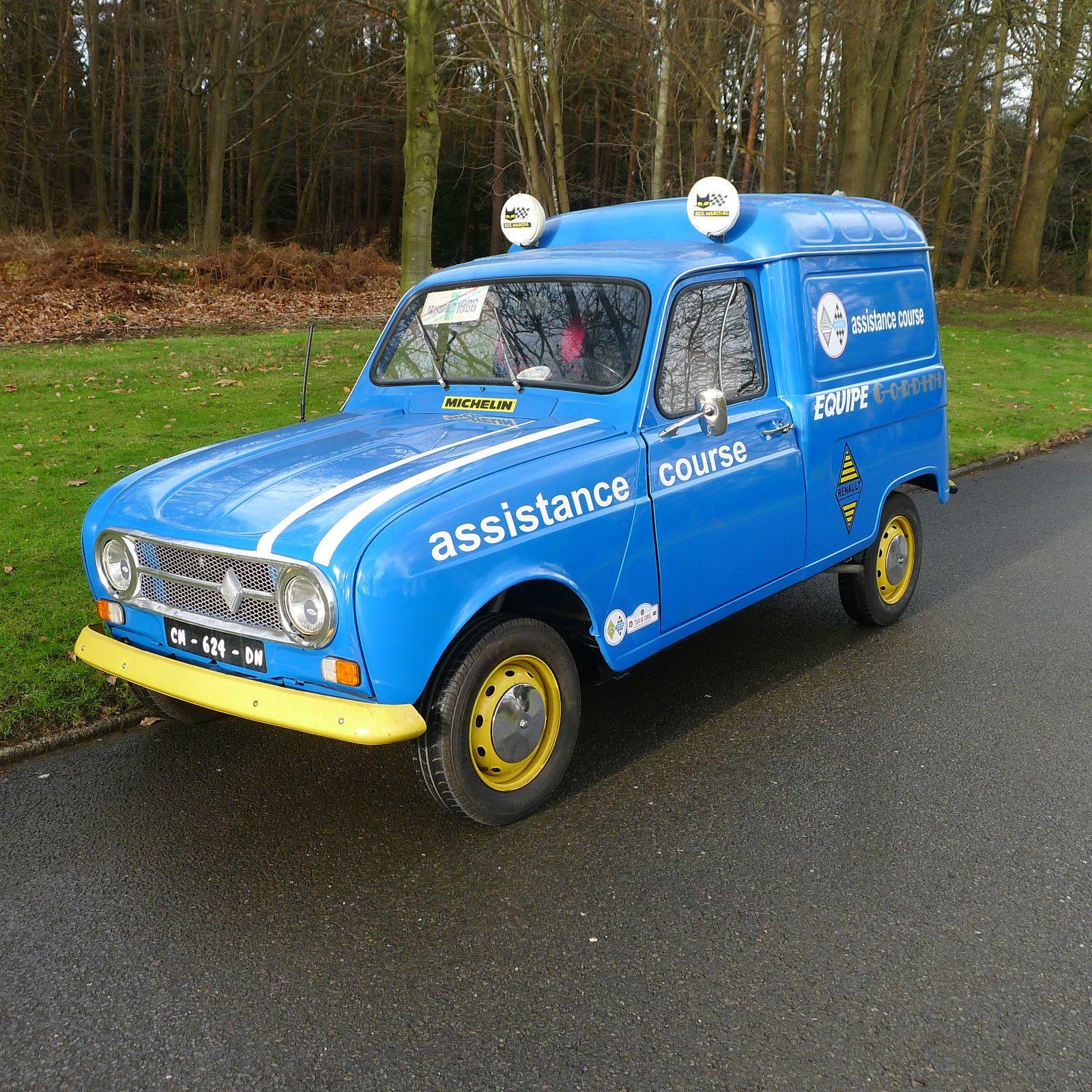 Renault 4 F4 van 1986 - ex Michelin tyre delivery van | Van car ...