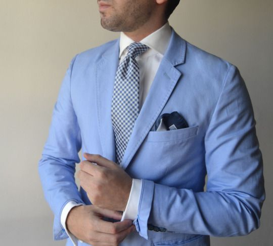 My Suit And Tie Fixation Mysuitandtiefixation Light Blue Jacket