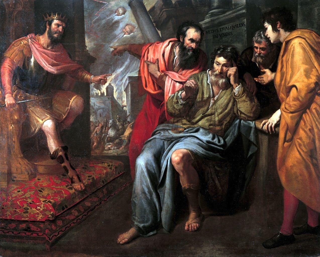 Nec Spe Nec Metu Domenico Fiasella Il Sarzana The Art Painting Image