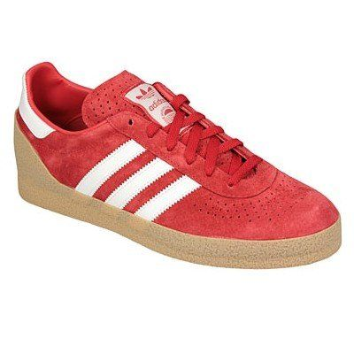 a24077467 Adidas Originals Montreal Red & White Men's Suede Trainers - Uk 9.5 ...