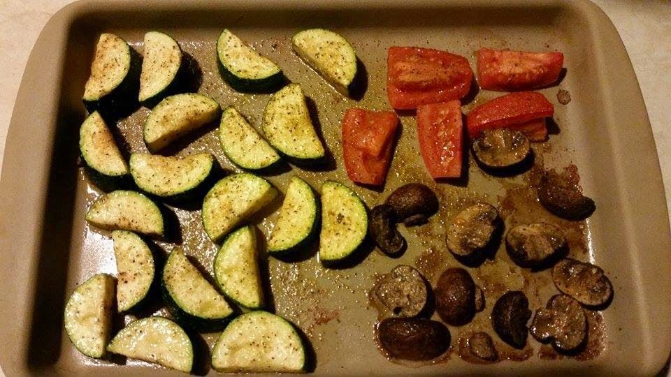 Beautiful Body... Built By You: Roasted Veggies