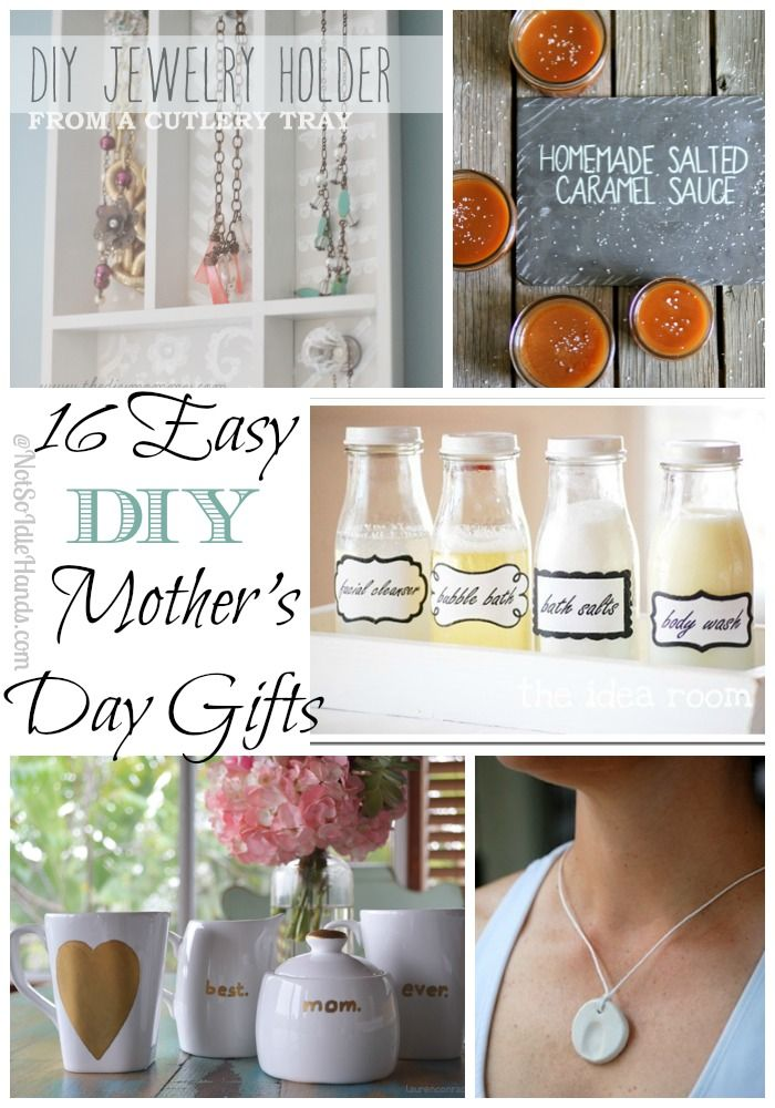 16 Easy Last Minute Diy Mother S Day Gifts Last Minute Diy