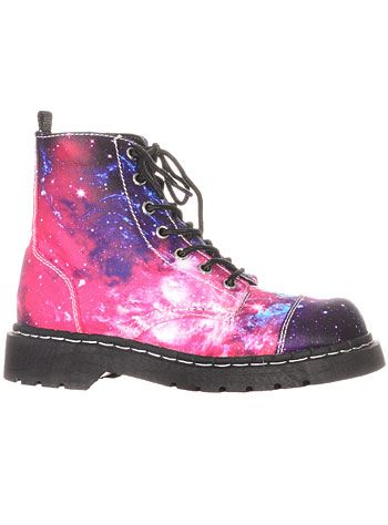 Outta This World Combat Boots at ShopPlasticland.com // Not sure ...