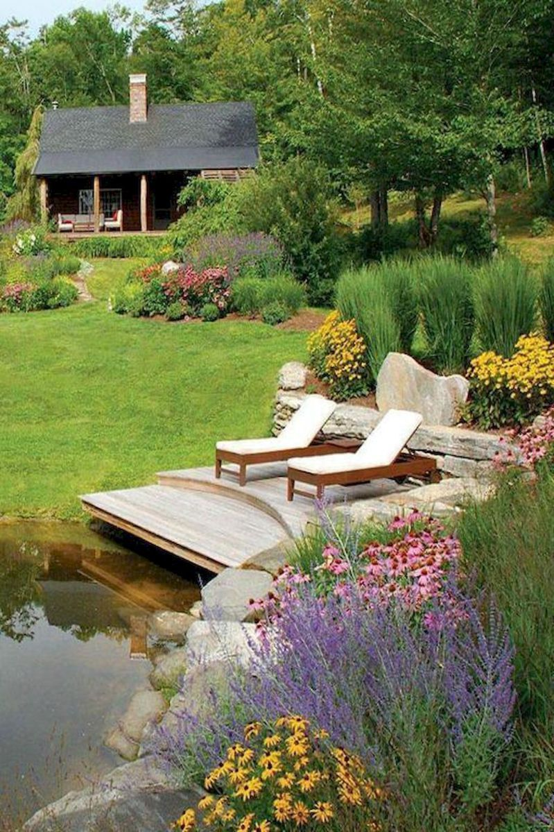 amazing fresh frontyard and backyard landscaping ideas