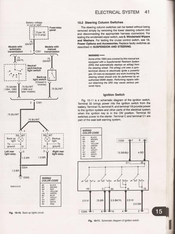 e30 ignition switch circuit car maintenance pinterest e30 rh in pinterest com