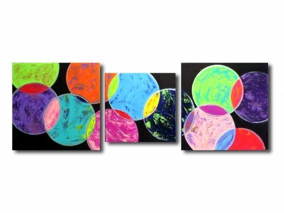 tableau peinture tableau xxl color moderne abstrait acrylique tableau xxl abstrait arc en ciel color - Tableau Abstrait Color