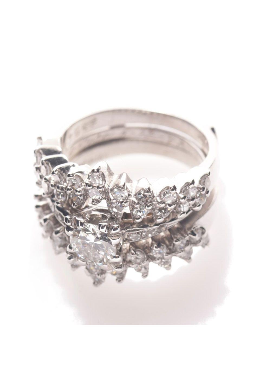 Art deco carat diamond engagement ringgorgeous vintage