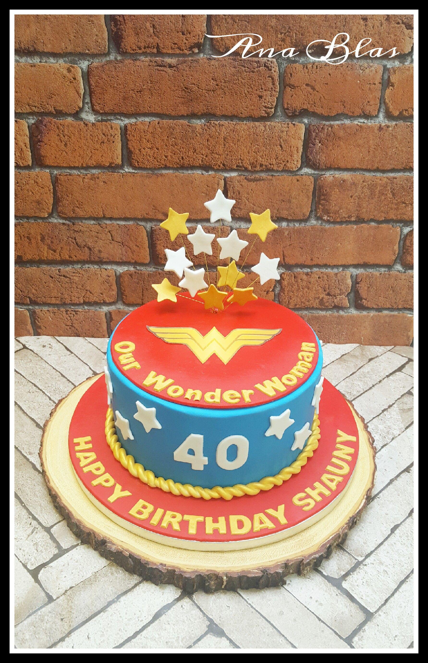 Wonderwoman Cake Wonderwoman Birthdaycake Comics Dc Superhero
