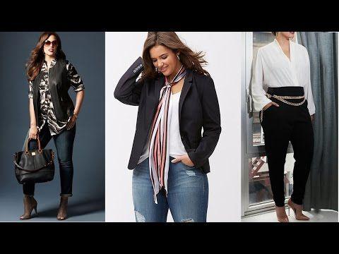 6c1cbf80ef Tendencias Ropa Para Mujeres de 40 años en adelante - YouTube ...