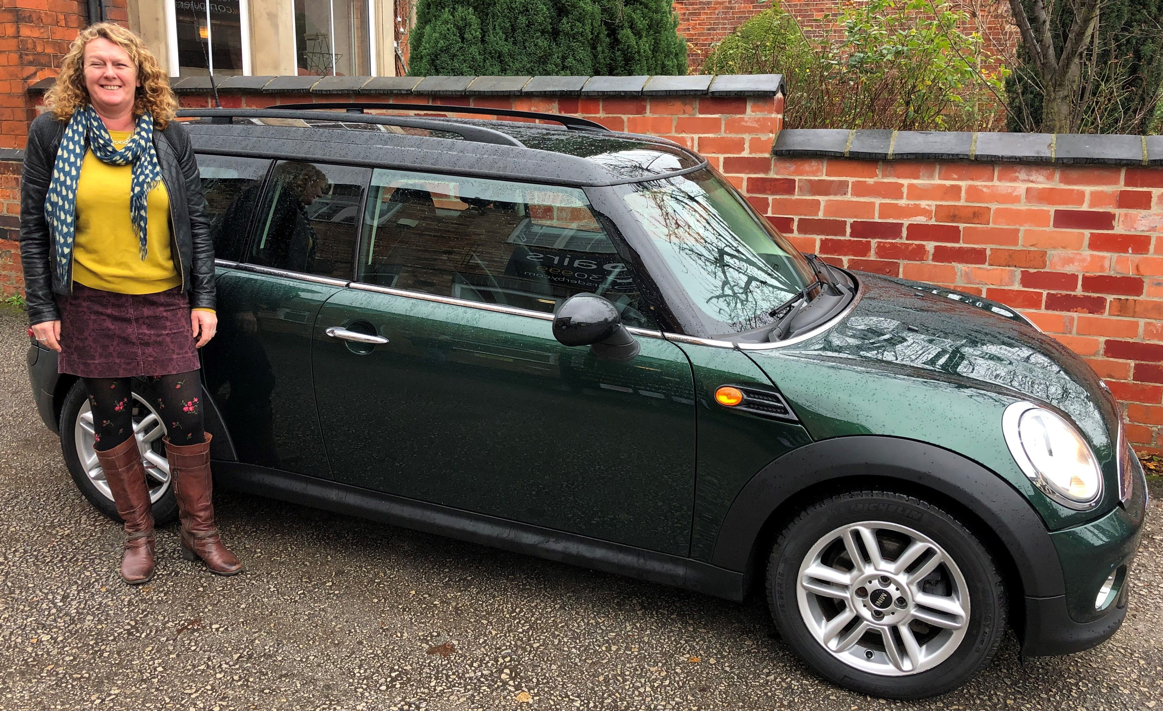 Thanks Lesley For Your Business Enjoy The Mini Clubman Derby