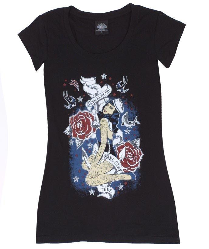 Homeward Stay - Rockabella Shirts - Vintage-Style - Queen Kerosin