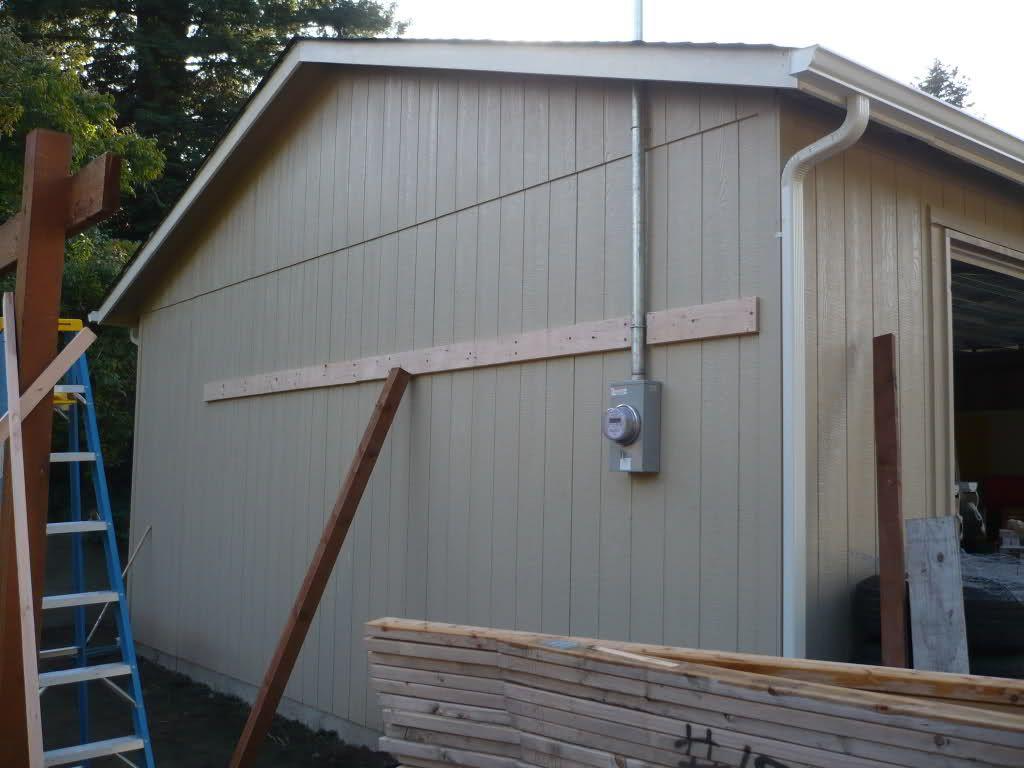 Lean to carport build The Garage Journal Board Pergola