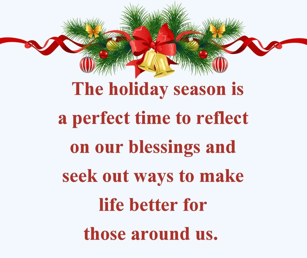 Take Time To Reflect Quotes: Christmas Celebration Quotes