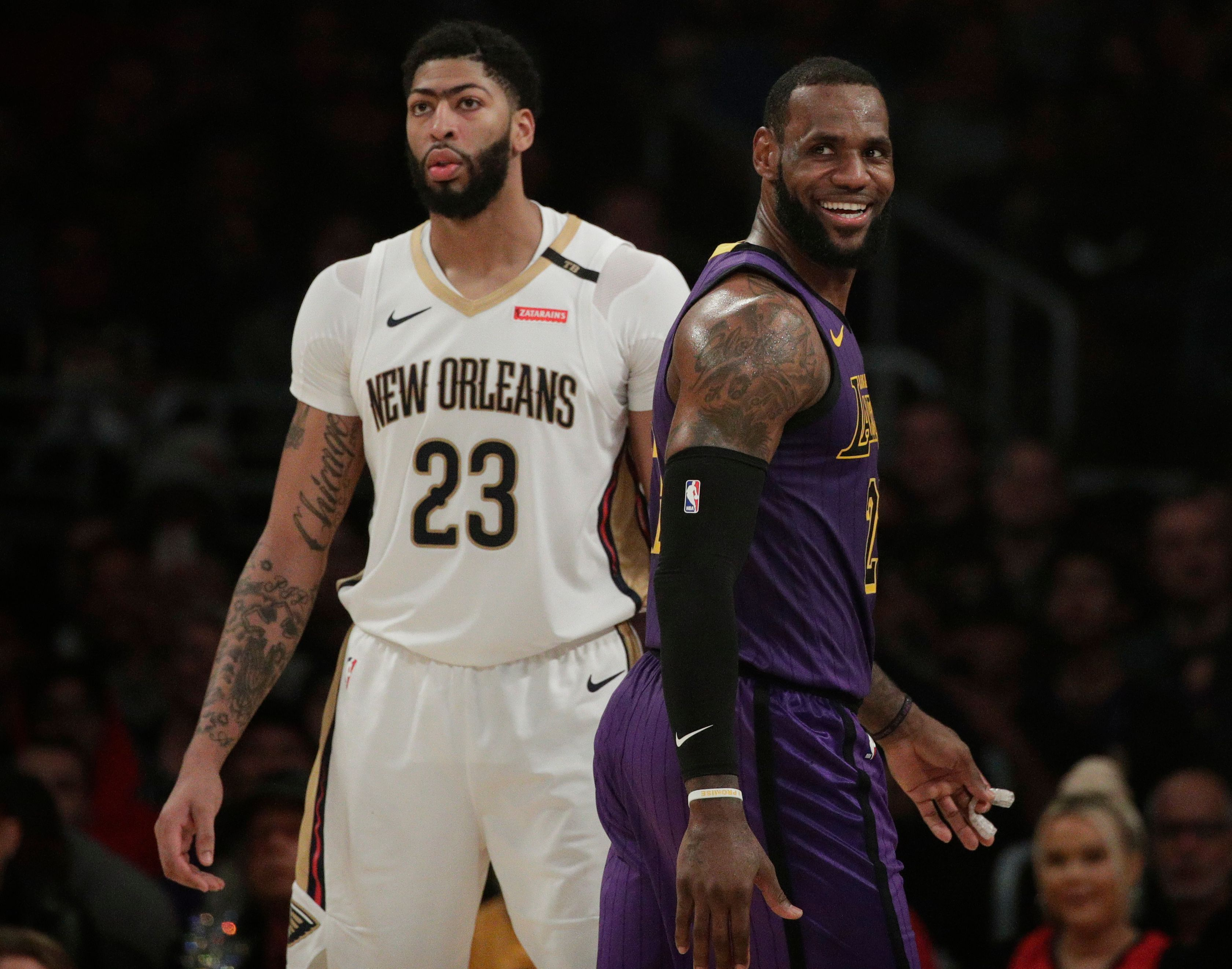 Lebron James Defends Comments On Anthony Davis After Lakers Beat