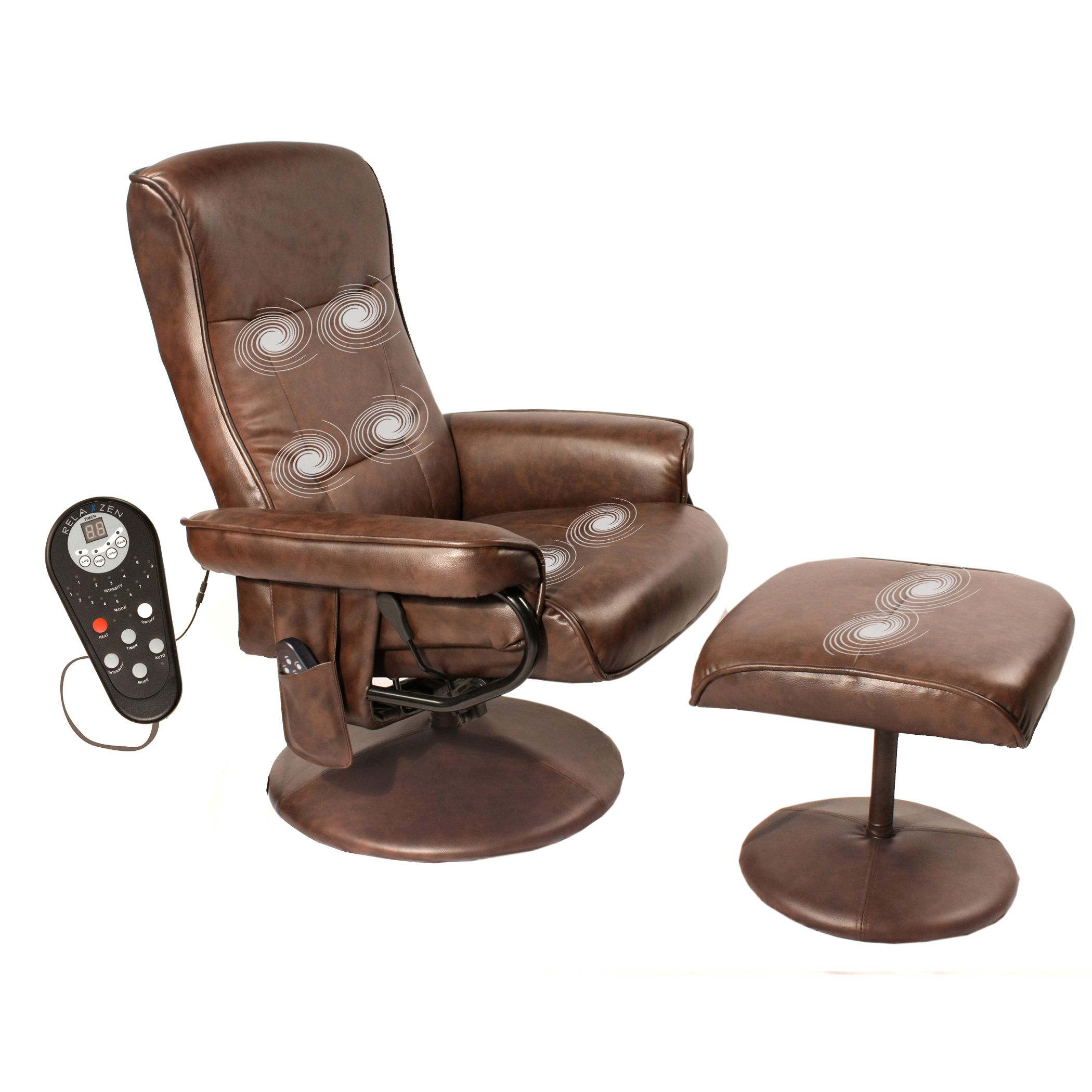 Enjoy your own personal masseuse anytime with this brown massage
