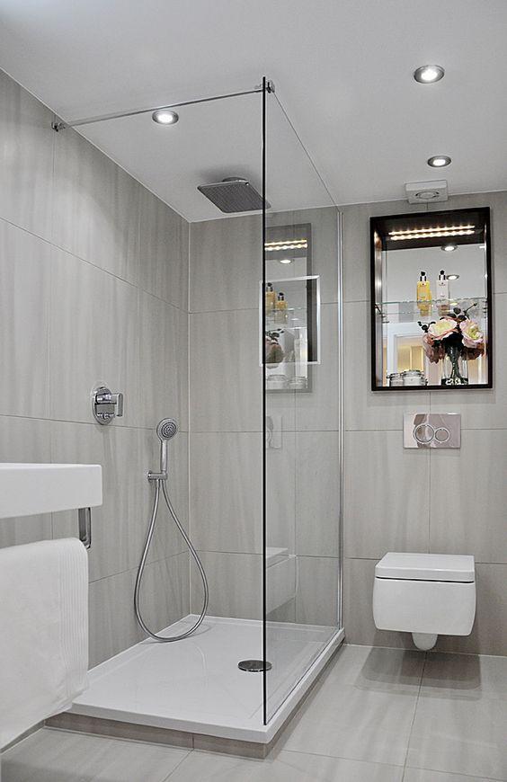 42 Ideen Fur Kleine Bader Und Badezimmer Bilder Bad Pinterest