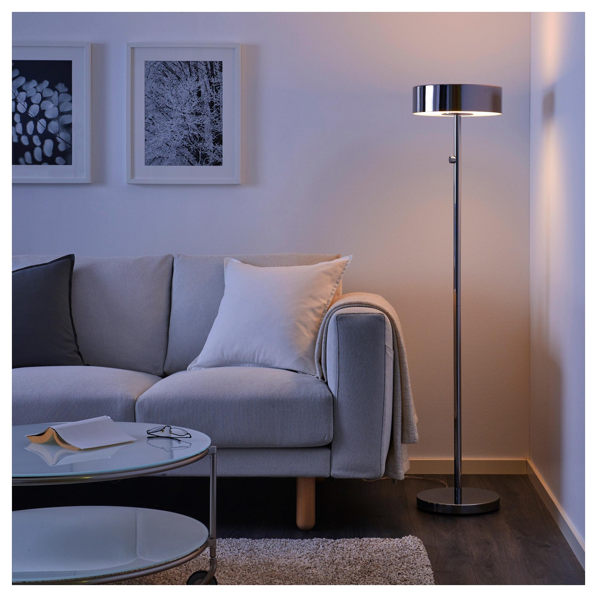 Stockholm 2017 Floor Lamp With Led Bulb Chrome Plated Floor Lamp