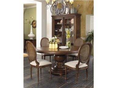 Shop For Fine Furniture Design And Mkt Round Pedestal Dining Table 1121 810