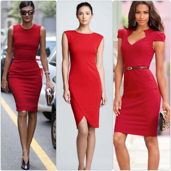 Rote kleider zum bestellen