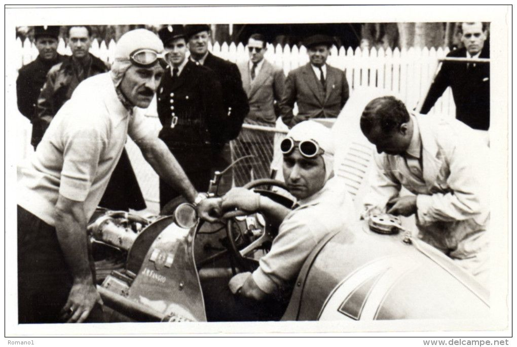 Juan Manuel Fangio - Maserati 4CLT/48 - Automovil Club Argentina - IV Grand Prix du Roussillon 1949 - F1 non championship race - Perpignan