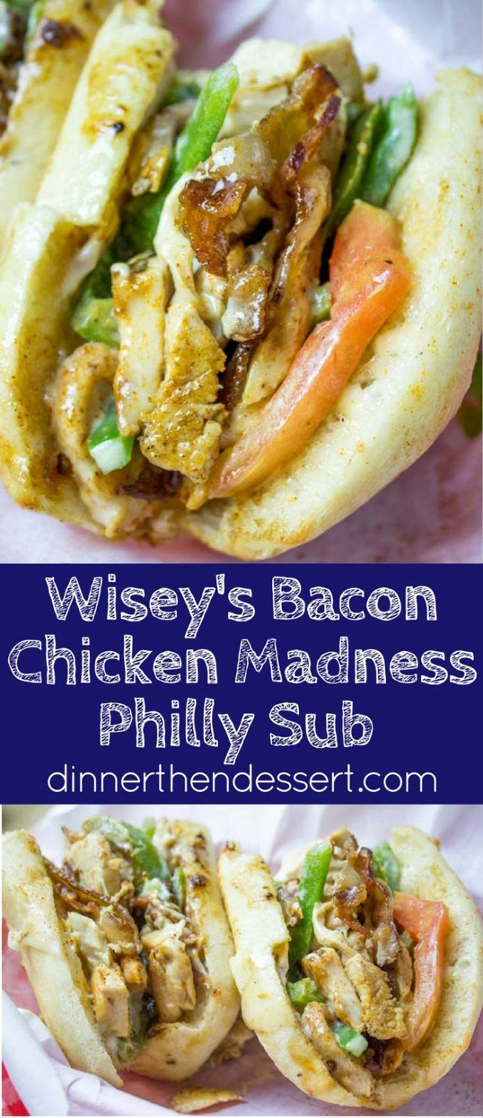 Chicken Madness Philly Sub Sandwiches Are A Georgetown University Tradition And An Amazing Alternative To Your Classic Philly Chee Poultry Recipes Food Recipes