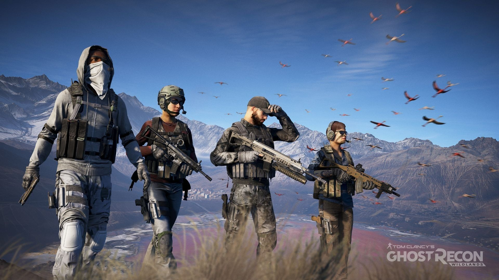 Wallpaper Hd Ghost Recon Wildlands Ghostreconwildlands Shooter