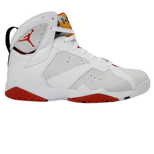 womens air jordan retro 7 white orange