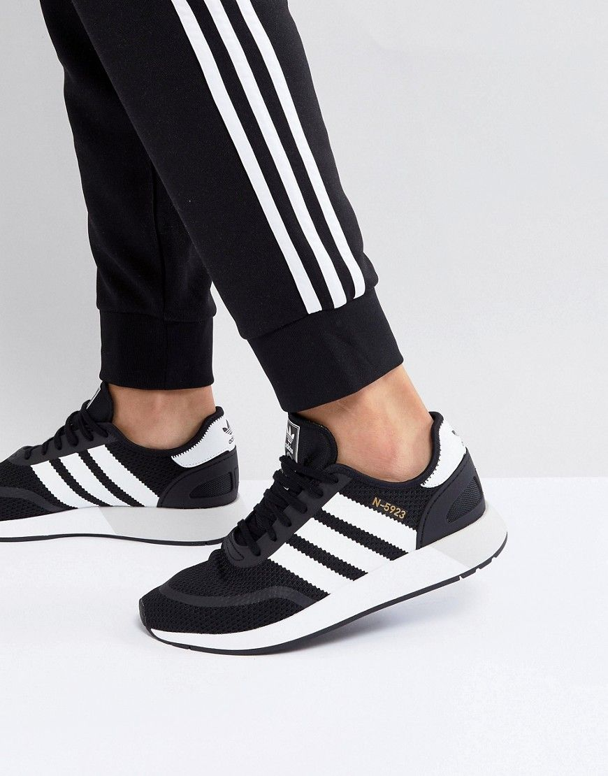 newest 802f7 7c81b ADIDAS ORIGINALS N-5923 RUNNER SNEAKERS IN BLACK CQ2337 - BLACK.   adidasoriginals  shoes