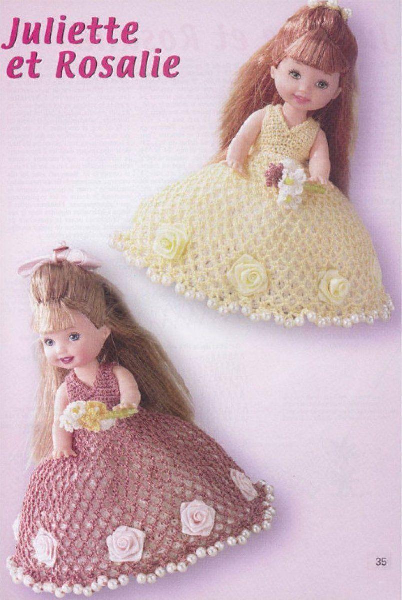 Patrones para Barbie | Shelly/Kelly | Pinterest - Barbie, Ropa de ...