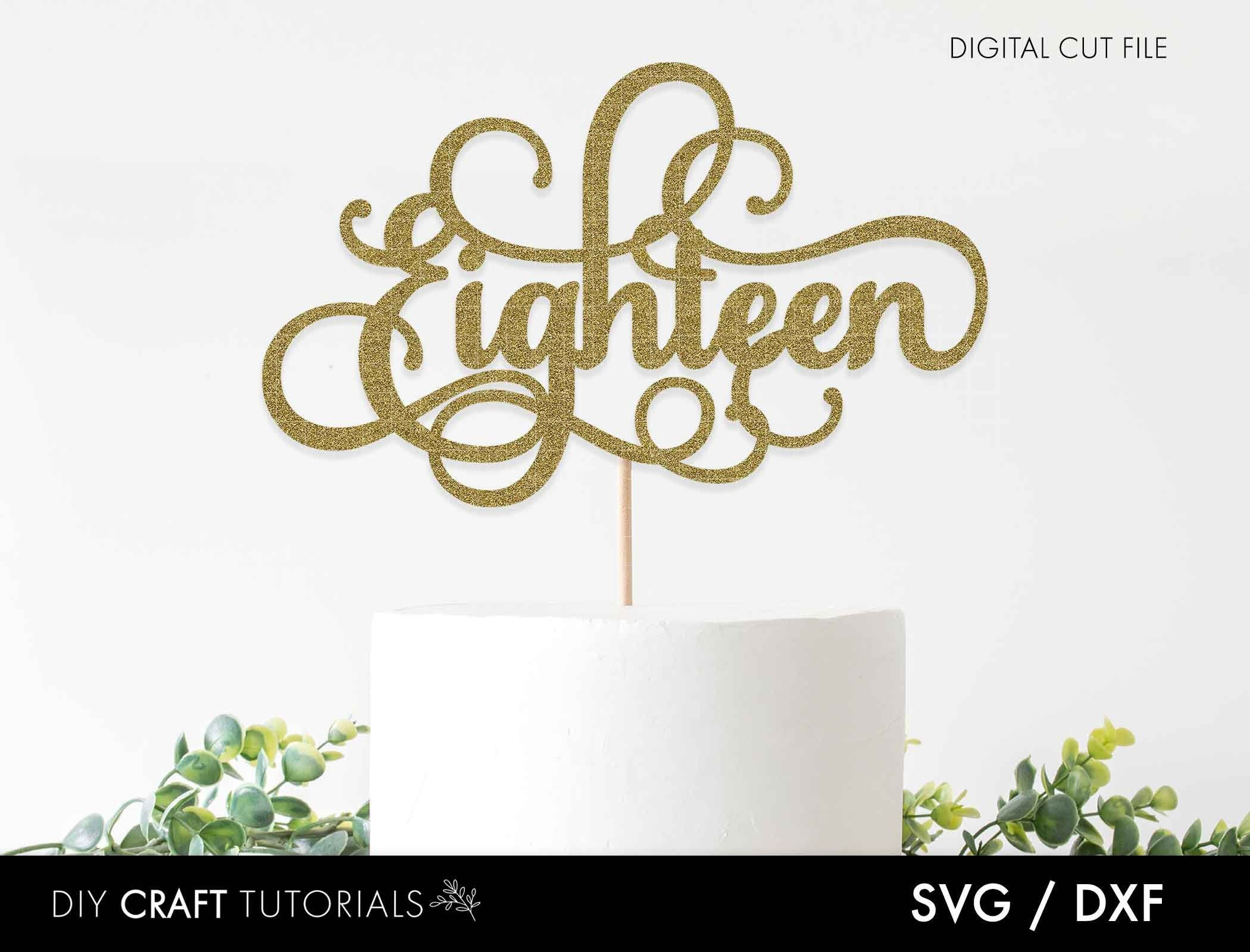 Free & cake decorating, decorations & cake toppers, cake toppers. Pin On Cake Toppers SVG, PNG, EPS, DXF File