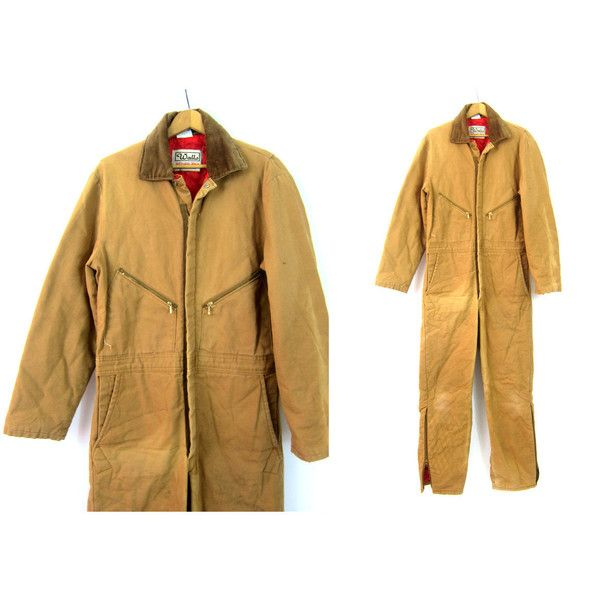 vintage overalls walls blizzard pruf insulated jumpsuit on walls insulated coveralls blizzard pruf id=91112