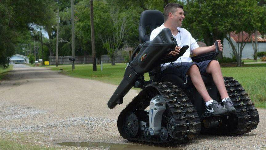 Meet The All Terrain Wheelchair That S Built Like A Tank
