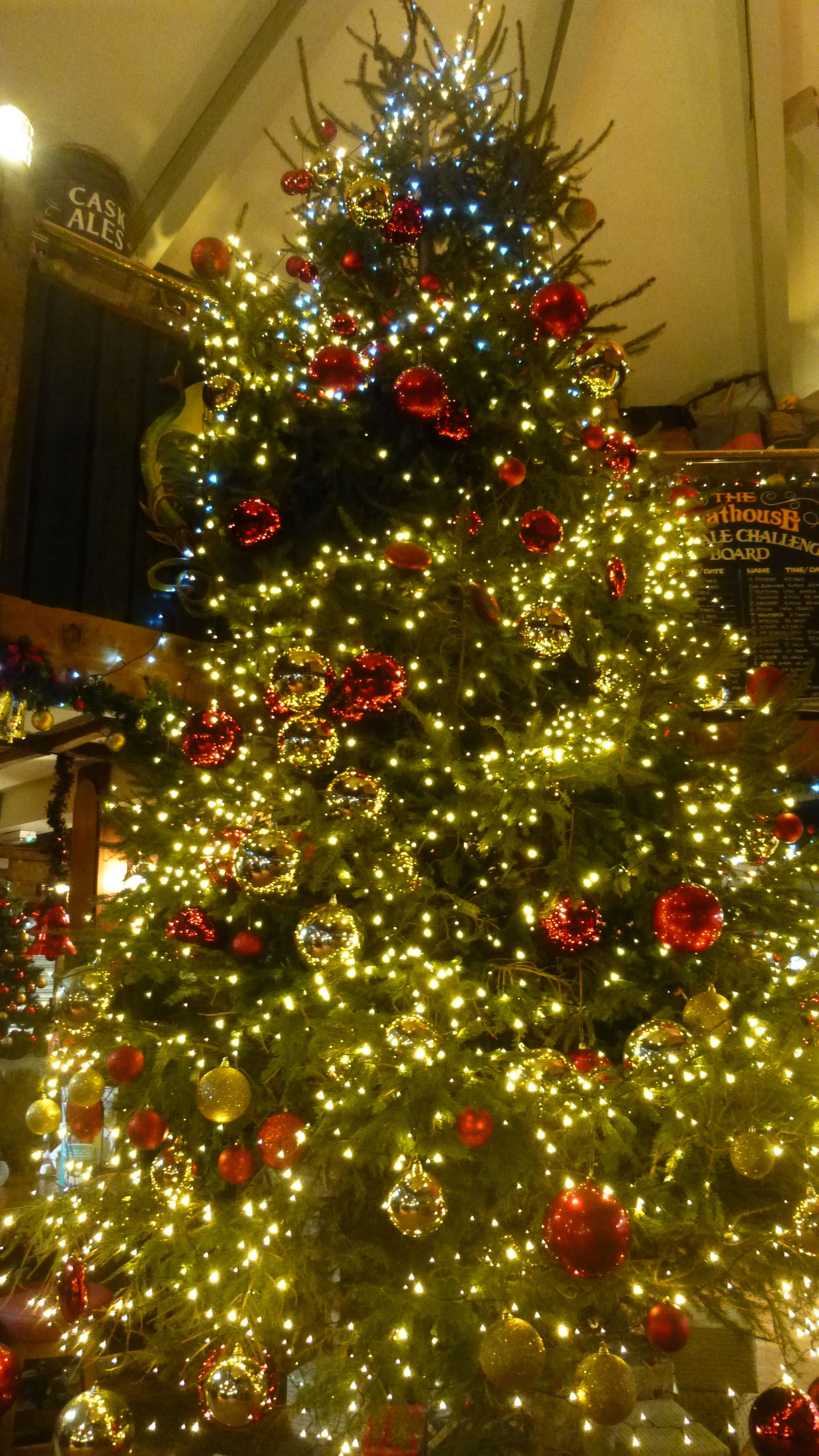 The Boathouse Pub Is Always Decorated From Floor To Ceiling At Christmas We Love It Bed And Breakfast Holiday Decor Christmas