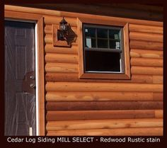 Cabin Siding Onto Single Wide Trailer Log Cabin Siding Remodeling Mobile Homes Mobile Home Exteriors