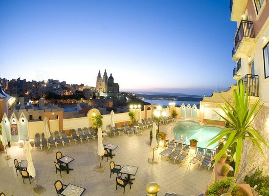 pergola club hotel & spa 4* mellieha malte
