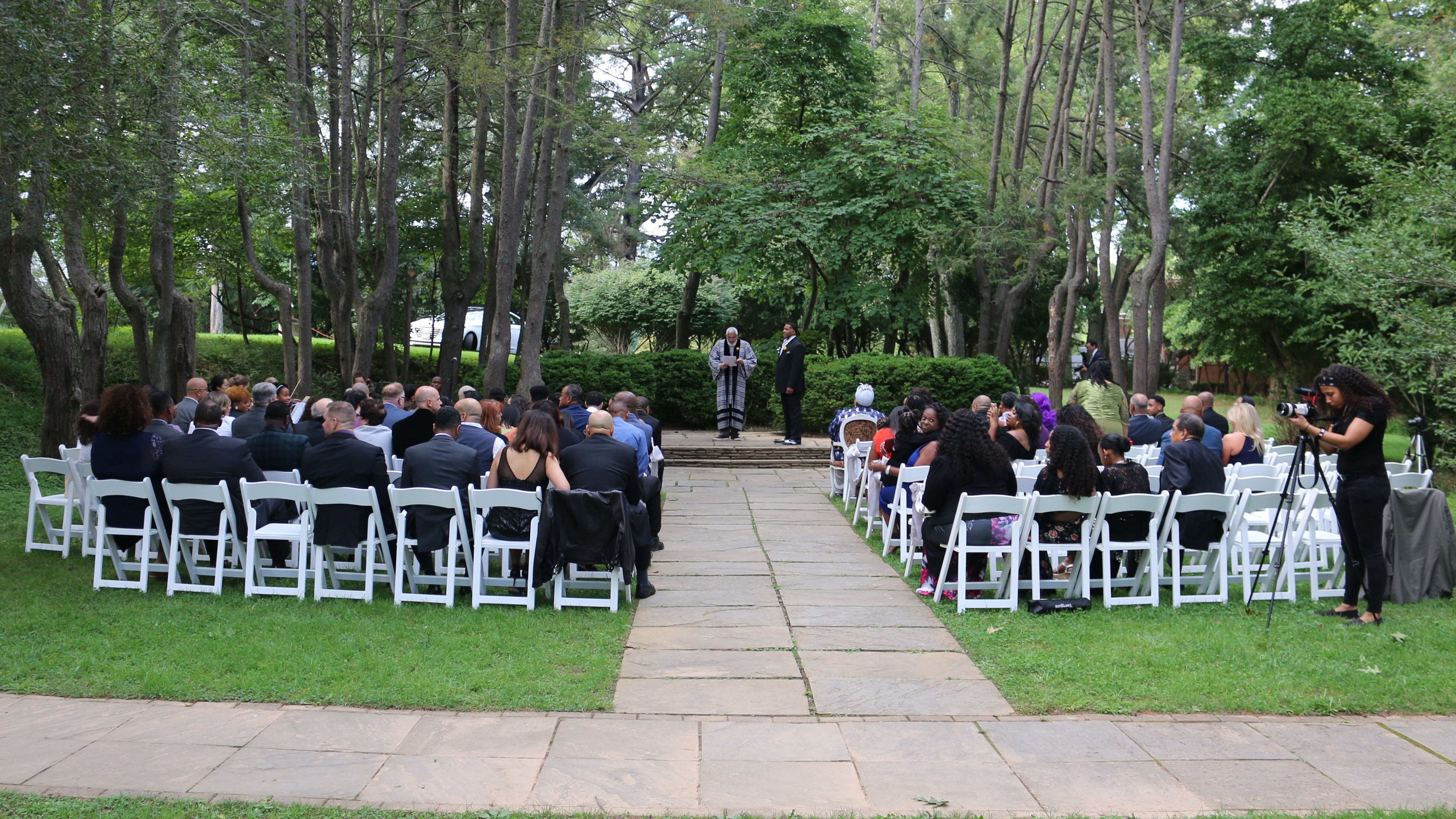 Our Wedding In The Grove At Woodend Sanctuary