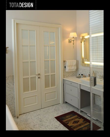 French Style Bathroom Door Doors Pinterest