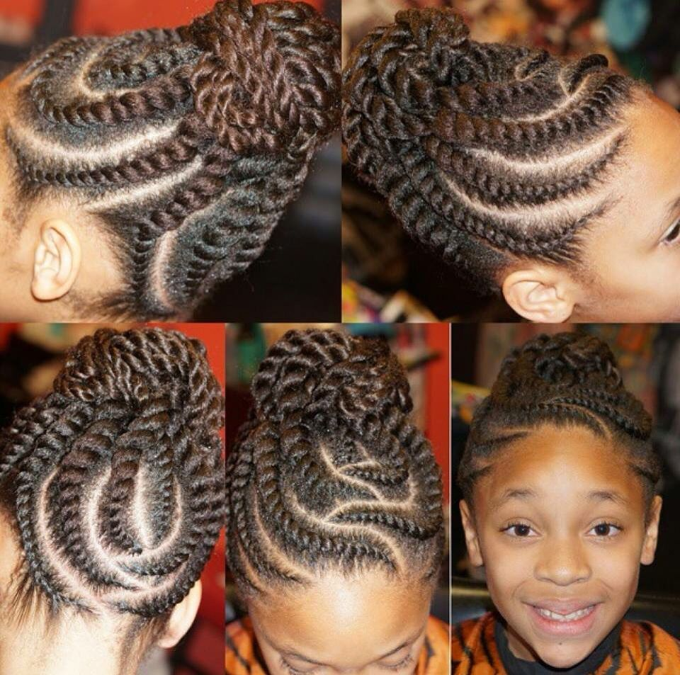 Tresses Africaines African Braids Hairstyles Hair Styles Hair