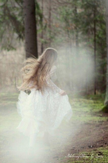 Modern wood fairy