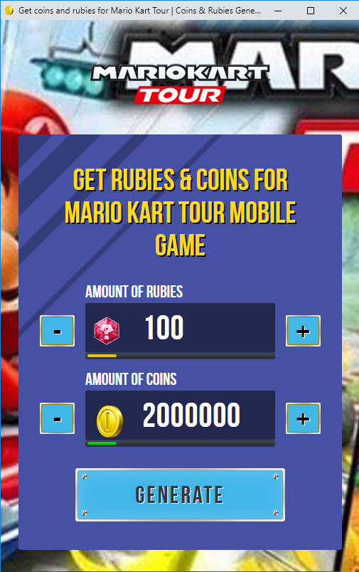 Mario Kart Tour Hack/Cheats How to Get Free Coins and