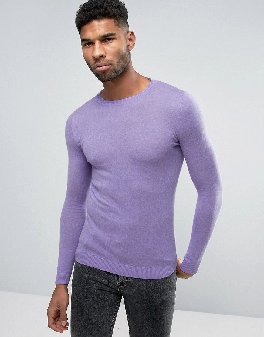 cd2a456b Get this Asos's knit pullover now! Click for more details. Worldwide  shipping. ASOS