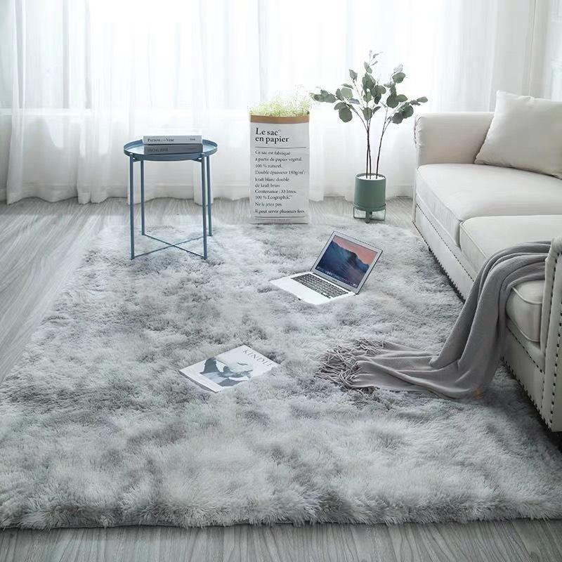 European Long Hair Area Rug Carpet Bedroom Bay Window Bedside Mat W 1000 In 2020 Rugs In Living Room Modern Rugs Living Room Furry Rugs