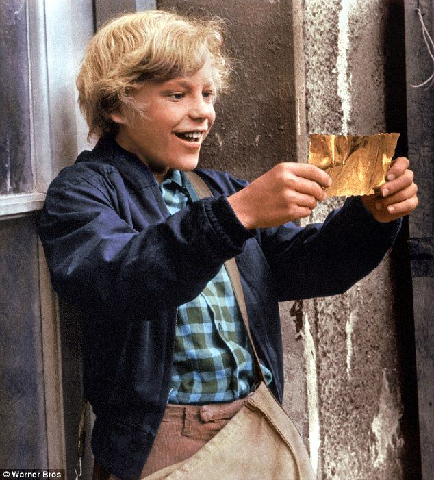 Original 'Golden Ticket' used in the 1971 film Willy Wonka ...